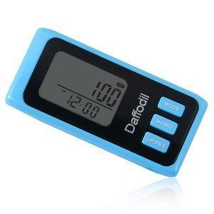 Daffodil HPC650 – Exakter Schrittzähler mit 7-Tage Speicher, Kalorienzähler und Fortschrittsmonitor (Blau)