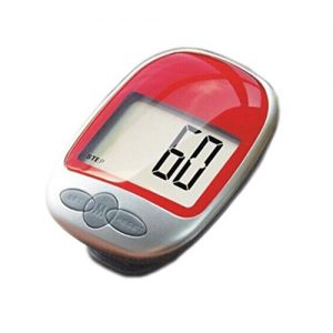 Pixnor Digital LCD Pedometer Pocket Counter zu Fuß (rot)
