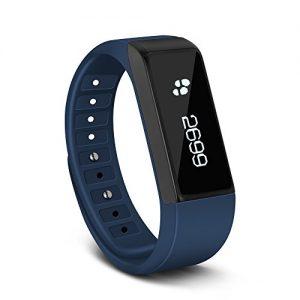 Tonbux Sport Armbanduhr Fitness Tracker Smart Bracelet Digital Smartwatch Aktivitätstracker Schrittzähler Kalorienzähler für Android und iOS Smartphone blau