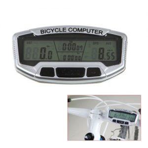 Tera® LCD Fahrrad Computer PC Fahrradtachometer Tacho Meter Bike Computer Fahrradcomputer