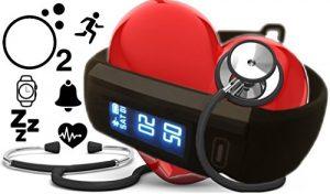 Lifepulse plus Blutdruck, Sauerstoff, Herzfrequenz, Atemfrequenz, Schlaf, Kalorien, Aktivität, Handy Lost Funktion, Kamera Fernbedienung – Daueraufzeichung. Berryking Lifepuls Version 2017 – Neuheit