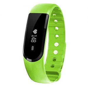 Kivors® Smart Uhr ID101 Handy Uhr Mehr Intelligent Uhr Fitnessarmband Aktivitätstracker Schlaf-Tracker Synchronisierung mit Android 4.4 oder höher und IOS7 oder höher