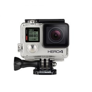 GoPro Actionkamera Hero4 (UK), Silver Adventure