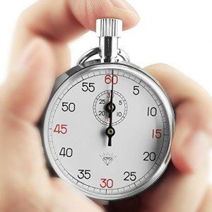 OneTigris Diamond 505 mechanische Stoppuhr Schaltuhr, Zeitmesser