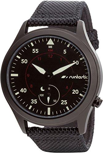 Runtastic RUNMOBA1 Moment Basic Uhr-Aktivitätstracker mit Silikonband