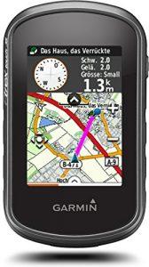 Garmin eTrex Touch 35 Fahrrad-Outdoor-Navigationsgerät – mit vorinstallierter Garmin TopoActive Karte, Smart Notifications und barometrischem Höhenmesser