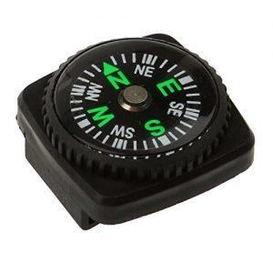 Kompass Mit Holster Uhrenarmband Paracord Armband Kompass Schwarze Farbe