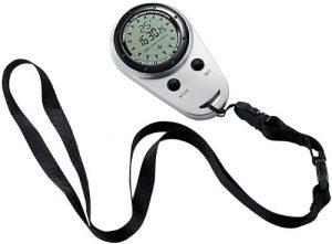 Semptec Urban Survival Technology Digitaler Kompass mit Stoppuhr und Thermometer