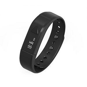 Juboury Fitness Armband, Fitness Tracker mit Schrittzähler, Schlafüberwachung, Anrufer- und Nachrichtenanzeige für iOS- und Android Smartphones
