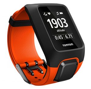 TomTom Adventurer Outdoor GPS-Uhr (Outdoor-Sport Modi, Routenfunktion, Kompass & Barometer, Eingebauter Herzfrequenzmesser, 3GB Speicherplatz für Musik)