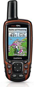 Garmin GPSMap 64s+ Topo Deutschland V7  GPS Gerät/Radcomputer mit TOPO Deutschland V7 PRO Karte