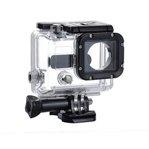 Shoot® Unterwasser Gehäuse Tauchgehäuse Schutzgehäuse Case Etui für GoPro Hero 3 Actionkamera HD Kamera Videokamera