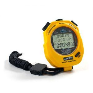 FINIS Uni Stopwatch 3x 300m, yellow, 1.30.040