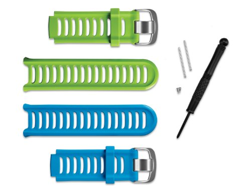 Garmin Handgelenk Strap Kit für Forerunner 910X T Multisport GPS-Uhr–Blau/Grün