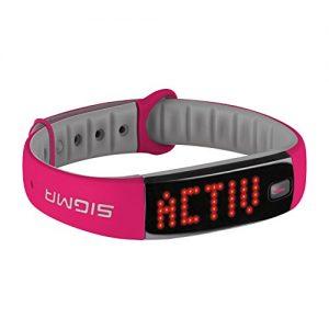 Sigma Activity Tracker ACTIVO, berry pink, 22912