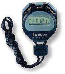 Oregon Scientific Digital Sports Stopwatch – Black