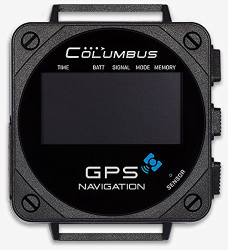 Columbus V-1000 mit MTK 3339 GPS Chip, POI Navigation, Software für Windows, Mac OS & Linux, Höhenmesser