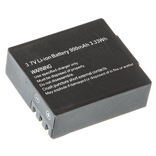 Ultrasport UmovE 3,7V Li-Ion Akku, 900mAh Batterie, Ersatz Akku für Sport- und Actionkamera UmovE HD60