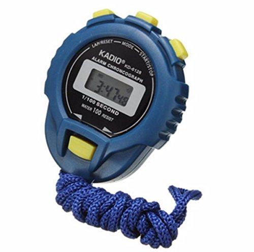 Fuibo LCD Chronograph Digital Timer Stoppuhr Odometer Uhr Alarm Sport Zähler