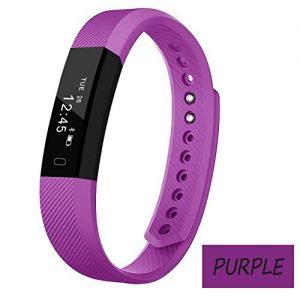 hongcaseco Fitness Tracker Alte Menschen, Smart Band Herzfrequenz Monitor Fitness Activity Tracker 2,2cm OLED-Display Übung Schritt Intelligente und Slim Kombination