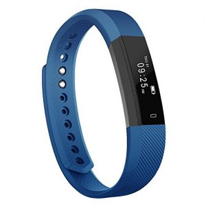 Fitness Armband Tracker, Luluking YG3 Sports Fitness Armband Schrittzähler Touchscreen mit Step Tracker/Kalorienzähler/Sleep Monitor Tracker/Call Benachrichtigung Push für iPhone iOS und Android Phone blau