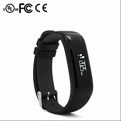 Bluetooth Smartwatch Armband Sport Fitness Uhr Heart Rate Tracker Armband,Aktivitäts Tracker,Kalorienzähler,Schlafüberwachung,Kalorienverbrennung überwachen,Entfernung,für Android iPhone iOS Handys