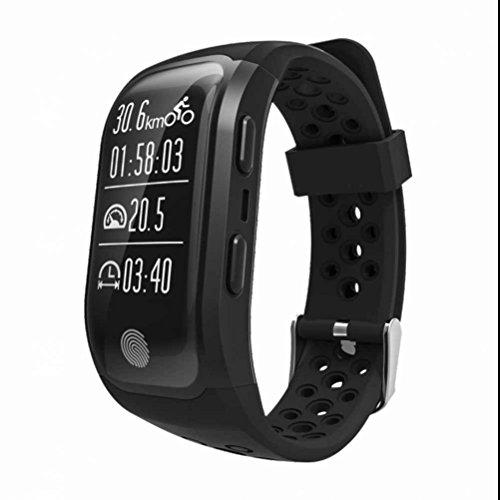 IP68 Wasserdicht Sport Fitness Tracker GPS Armband Multisport Laufen Fahrrad Schwimmen Uhr Telefon Pulsmesser Mit Schrittzähler Kalorienzähler Schlafanalyse Call Sms Erinnerung Wecker Für Android IOS Smartphone