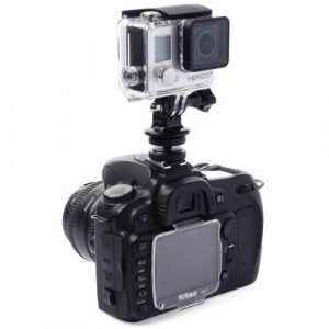 XCSOURCE® Einstellbar 1 x Mini Shoe Stativ Adapter Mount Ersatzteil+ Tripod Stativhalterung+ Schrauben für Kamera GoPro Hero 3 3+ 4 SJ4000 SJ5000 OS72