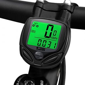 Fahrradcomputer Kabellos , Ubegood LCD Drahtloser Fahrradcomputer Auto Wake Up wasserdicht Wireless Fahrradtacho für Distanz und tracking Geschwindigkeit