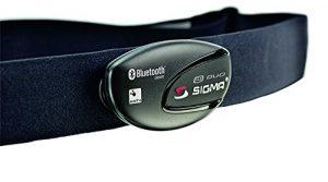 Sigma Sport R1 Duo (Ant+/Bluetooth Smart) Comfortex+ -Herzfrequenz-Sensor Zubehör, Schwarz, One Size