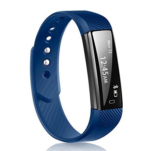 Fitness Tracker, Smart Armband robotsdeal ID115 Bluetooth Call erinnern Fernbedienung Selbstauslöser Smart Watch Activity Tracker Kalorienzähler Wireless Schrittzähler Sport Band Schlaf Monitor für An