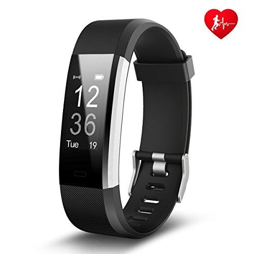 Fitness Armband Uhr, Heardl Fitness Tracker mit Herzfrequenz / Schrittzähler / Kalorienzähler / Schlafmonitor / 14 Training-Modi, IP67 Wasserdicht Aktivitätstracker Podometer für Android und iphone