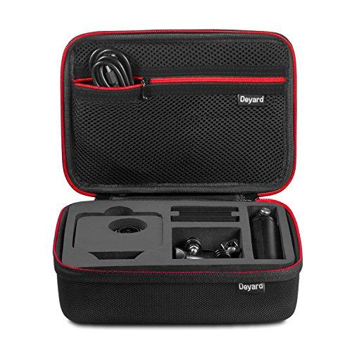 Deyard Stoßfeste Tragbare Aufbewahrungs Tasche und Tragetasche für GoPro Fusion Aktion Kamera