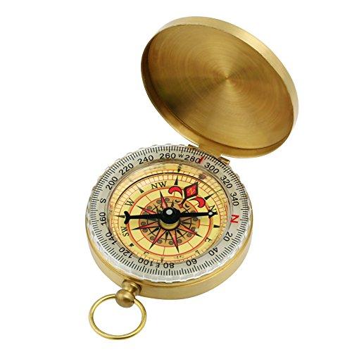 GWHOLE Taschenkompass Kompass für Camping Wandern Outdoor Navigation