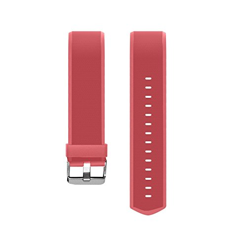 Herzfrequenz Monitor Band HolyHigh Adjustable Replacement Strap for YG3 Plus HR Fitness Armband (Rot)