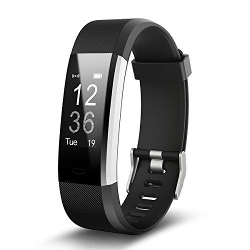 Fitness Tracker, EFOSHM Wasserdichte IP67 Fitnessuhr Mit Pulsmesser Bluetooth Touchscreen Sport Aktivitätstracker Schrittzähler / Kalorienzähler / Sleep Monitor Tracker/Anrufe/SMS/SNS Benachrichtigung Smartwatches für Android und Ios