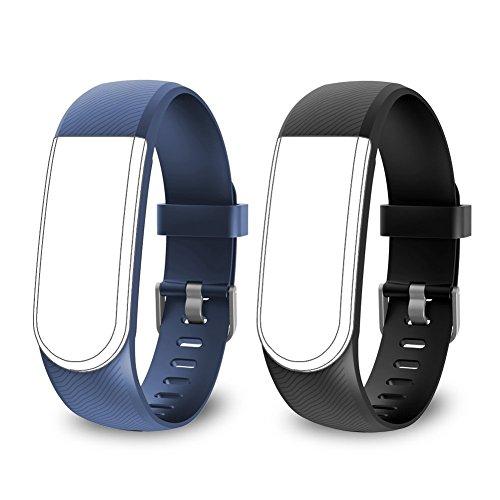 endubro Ersatzarmband für ID101, ID101 HR, ID101HR, SW322 Fitness Armband von endubro, Camtoa, Omorc, Willful, Tonbux, Letscom, YAMAY