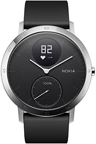 Nokia Steel HR - Fitnessuhr mit Herzfrequenz- & Aktivitätsmessung
