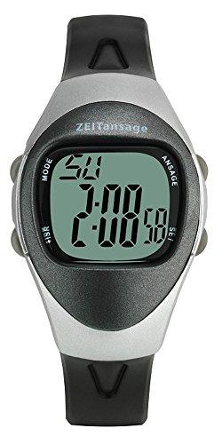 Sprechende Armbanduhr TFA-Dostmann 60.7003.54 mit digitaler Anzeige 4 Alarmzeiten
