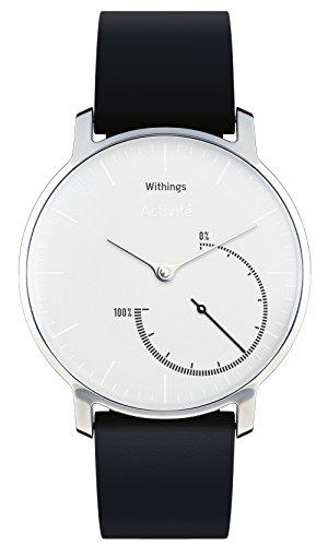Withings Activité Steel - Smartwatch mit  Aktivitäts- und Schlaftracker - Mineraglas & Edelstahl