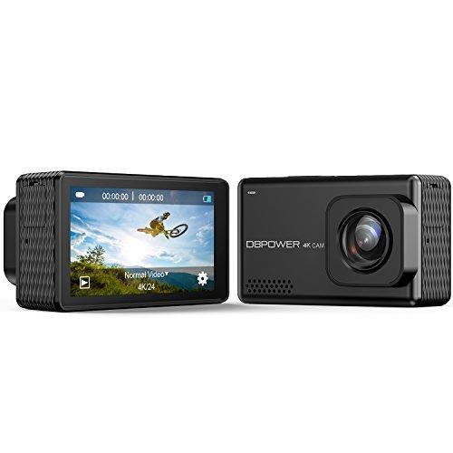 DBPOWER EX7000 PRO 4K WLAN Action Kamera, 2,45