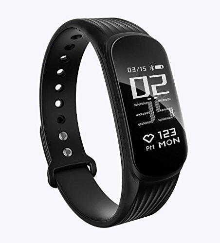 Fitness Tracker, DAWO Fitness Armbanduhr Wasserdicht Fitness Tracker HR mit Herzfrequenz / Schlafanalyse / Kalorienzähler / Aktivitätstracker Schrittzähler - Smart Fitness Armband Android IOS