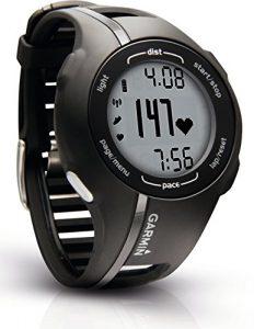 Garmin GPS Laufuhr Forerunner 210 HR – GPS Trainingscomputer inkl. Brustgurt