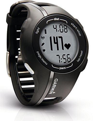 Garmin GPS Laufuhr Forerunner 210 HR - GPS Trainingscomputer inkl. Brustgurt