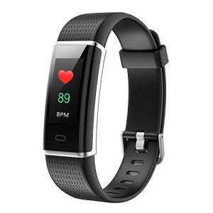 Fitness Armband Herzfrequenz Willful Smart Armband uhr IP68 Wasserdicht Sport Fitness Tracker Pulsmesser Aktivitätstracker mit Schrittzähler,Kalorienzähler,Schlafmonitor,Vibrationsalarm,Whatsapp SMS Beachten,Herren/Damen laufen Multi-Sport-Tracker für ios iphone und Android-Handys