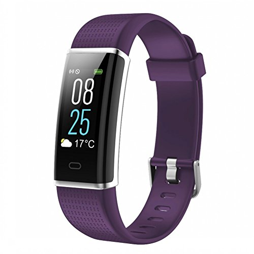 TOOBUR Fitness Armbanduhr, Wasserdicht Fitness Tracker mit Herzfrequenz Schrittzähler Schlafmonitor und Kalorienzähler, Aktivitätstracker Armband Uhr für Damen Frauen und Kinder