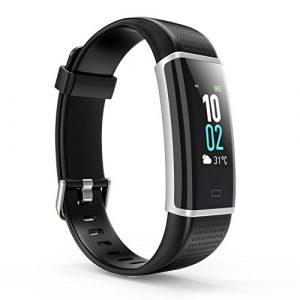 Alloyseed Fitness Armband, Fitness Tracker Unisex wasserdicht (01#)
