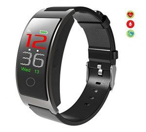 Borien Smart Watch Tracker Bluetooth Farbe Bildschirm Fitness Armbanduhr für Frauen / Männer