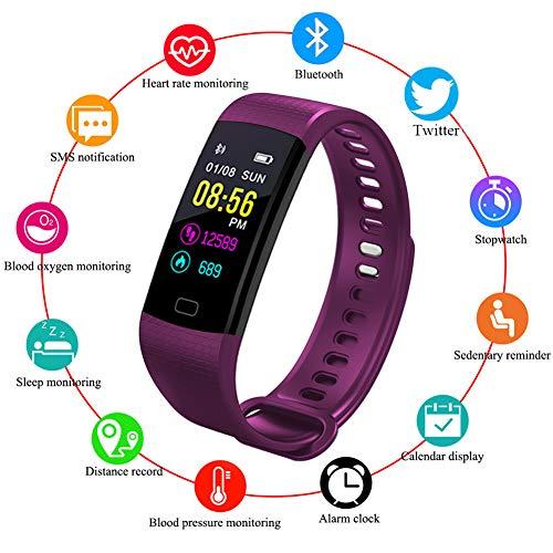 LIGE Fitness Armband,Wasserdicht IP68 Fitness Tracker mit Pulsmesser 0,96 Zoll Farbbildschirm Aktivitätstracker Fitness Uhr Smartwatch,Pulsuhren,Schrittzähler Uhr,Smart Watch für Damen Herren