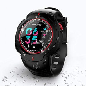 N NEWKOIN Smart Watch Fitness Tracker Sportuhr Aktivitätstracker Fitness Armbanduhr Wasserdicht Bluetooth Kompatibel mit Android IOS für Herren Damen Kinder
